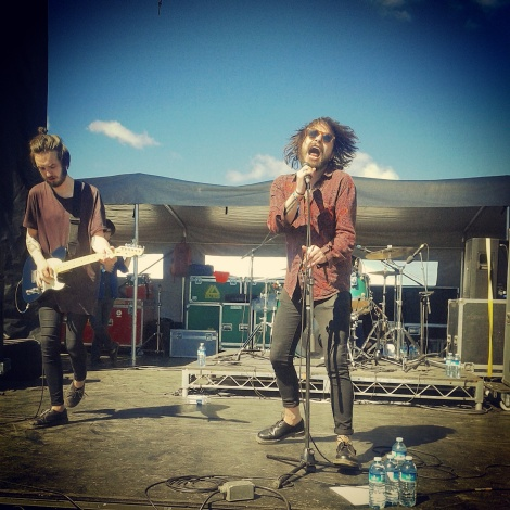 Aidan and James Coogan at Riot Fest Toronto