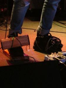 Shaker and tambourine and stompbox, oh my!!!