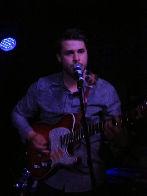 Lead singer Sam Rayner