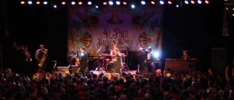 A photo that does not convey how great St. Paul and the Broken Bones were