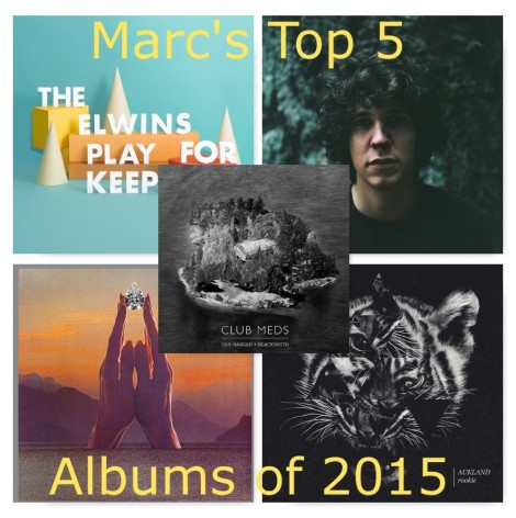Marc's Top 5 Albums of 2015
