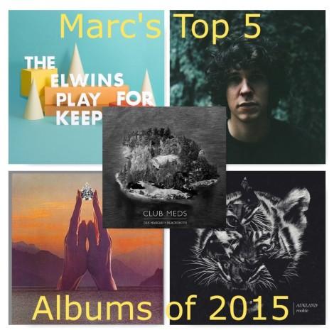 Marc's Top 5 Albums of 2015
