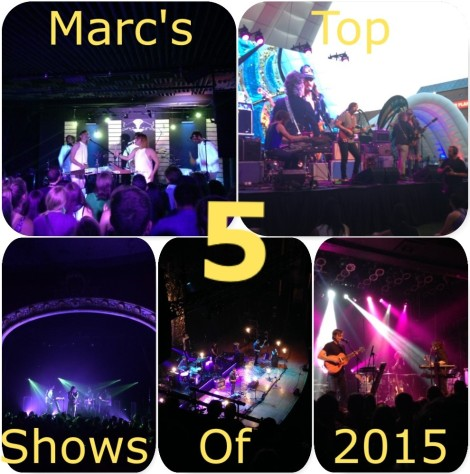 Marc's Top 5 Shows of 2015