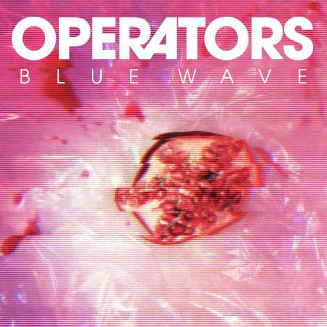 Operators - Blue Wave - Album Cover Art