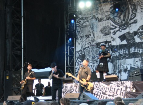 The Dropkick Murphys perform at Ottawa CityFolk 2016