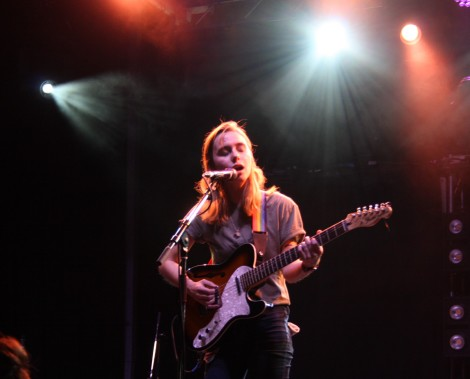 Julien Baker playing at Ottawa CityFolk 2016