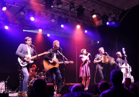 Skinny Lister performs at Ottawa CityFolk 2016