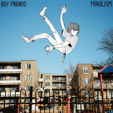 BOY FRIENDS Fragilism album cover