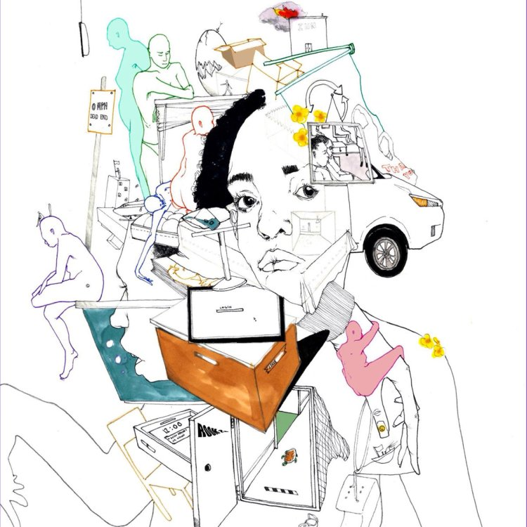 Album cover for Room 25 by Noname